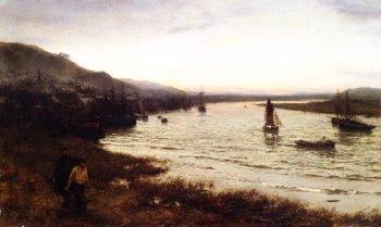 Newburgh on Tay   David Farquharson   oil painting