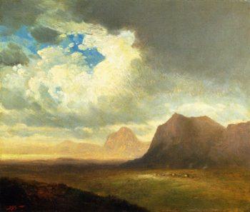 Landscape with Cliffs | John Williamson | oil painting