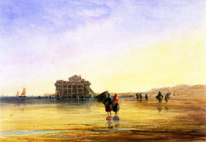 Calais Sands with Fort Rouge | David Cox | oil painting