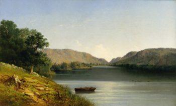 Silent Lake | John Williamson | oil painting