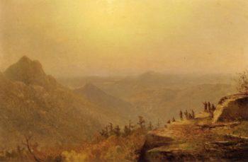 Sunset in the Wilderness | John Williamson | oil painting