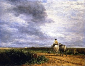 Going to the Hayfield | David Cox | oil painting
