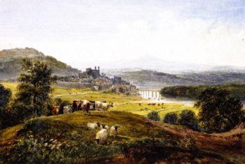 Hay on Wye | David Cox | oil painting