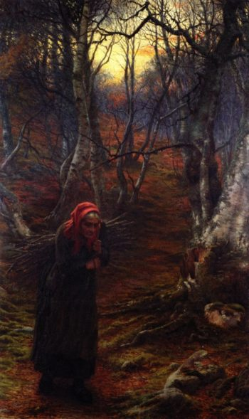 The Sere and the Yellow Leaf | Joseph Farquharson | oil painting