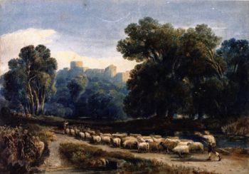 In Windsor Park | David Cox | oil painting