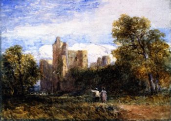 Kenilworth Castle | David Cox | oil painting