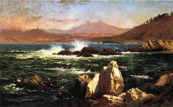 Half Moon Bay | Raymond Dabb Yelland | oil painting