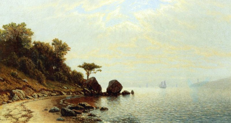 Morning on the Shore   Raymond Dabb Yelland   oil painting