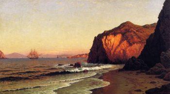The Golden Gate | Raymond Dabb Yelland | oil painting