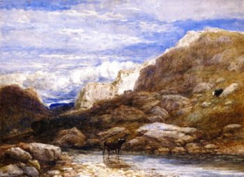 The Challange | David Cox | oil painting