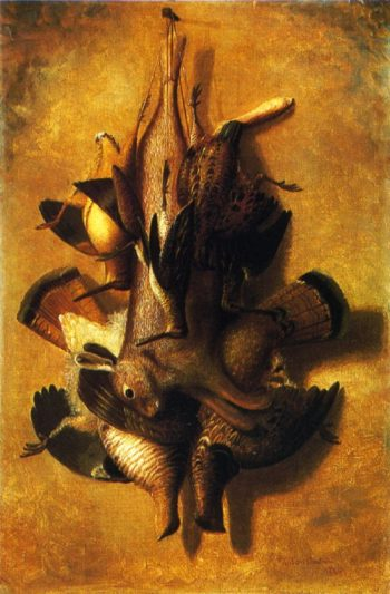 Still Liife Dead Game | Richard LaBarre Goodwin | oil painting