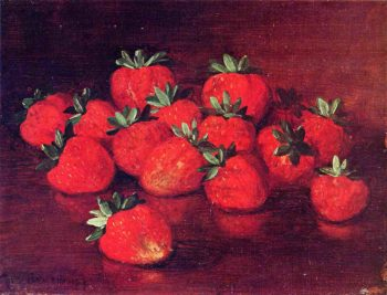 Strawberries | Richard LaBarre Goodwin | oil painting