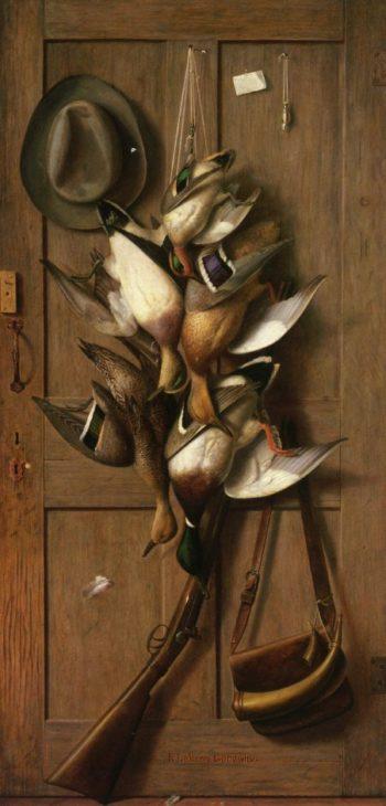 Theodore Roosevelt's Cabin Door | Richard LaBarre Goodwin | oil painting
