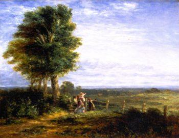 The Skylark | David Cox | oil painting