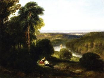 The Wyndcliff River Wye | David Cox | oil painting
