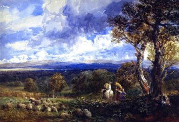 Vale of Clwyd | David Cox | oil painting