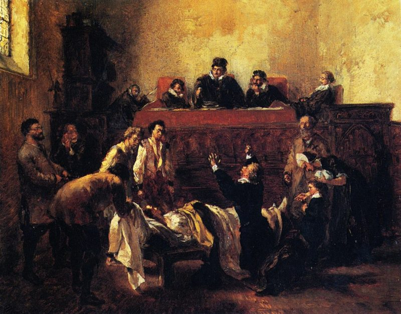 Day of the Hearing | Adolph von Menzel | oil painting