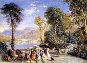 Windermere during the Regatta | David Cox | oil painting