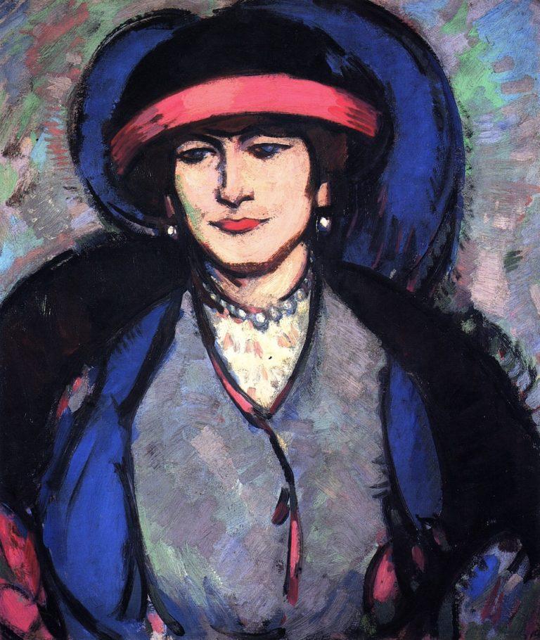 Anne Estelle Rice | John Duncan Fergusson | oil painting