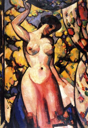 At My Studio Window | John Duncan Fergusson | oil painting