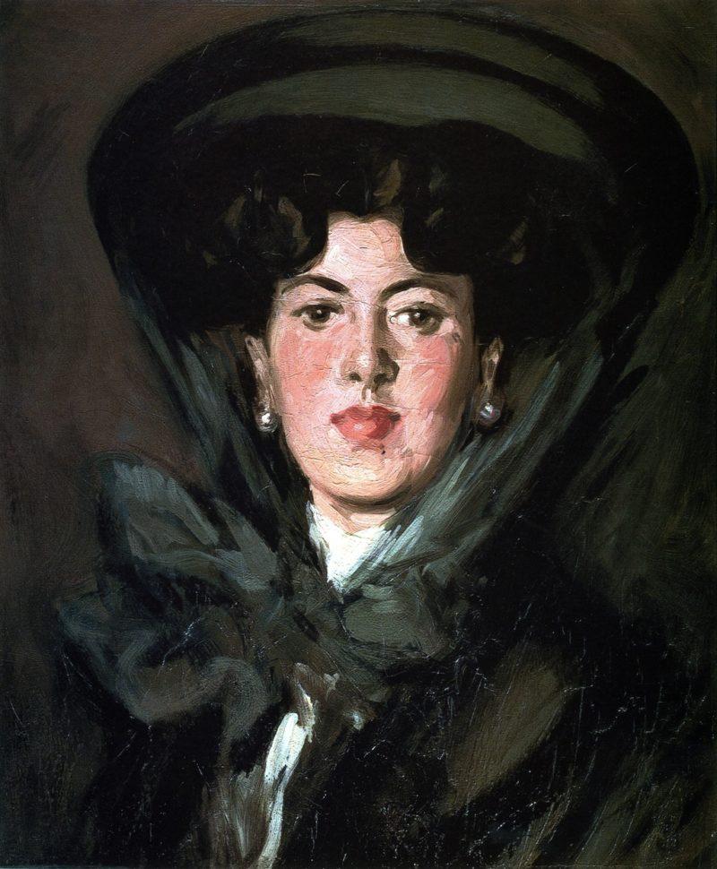 Jean Maconochie   John Duncan Fergusson   oil painting