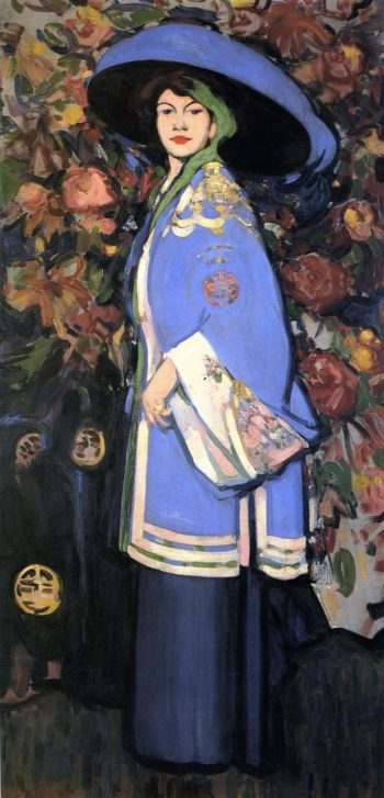 Le Manteau Chinois | John Duncan Fergusson | oil painting