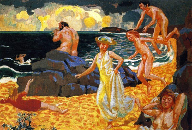 Ployphemus   Maurice Denis   oil painting