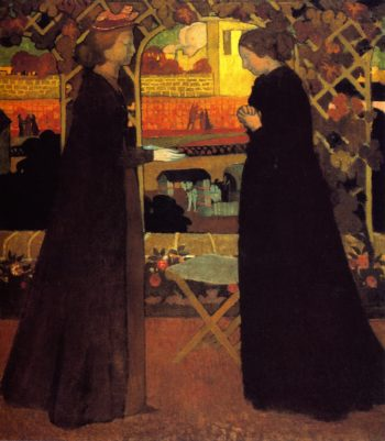 The Encounter | Maurice Denis | oil painting