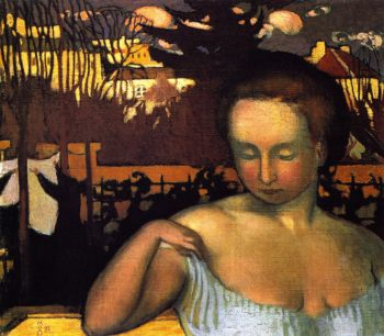 Marthe Denis the Artist's Wife | Maurice Denis | oil painting