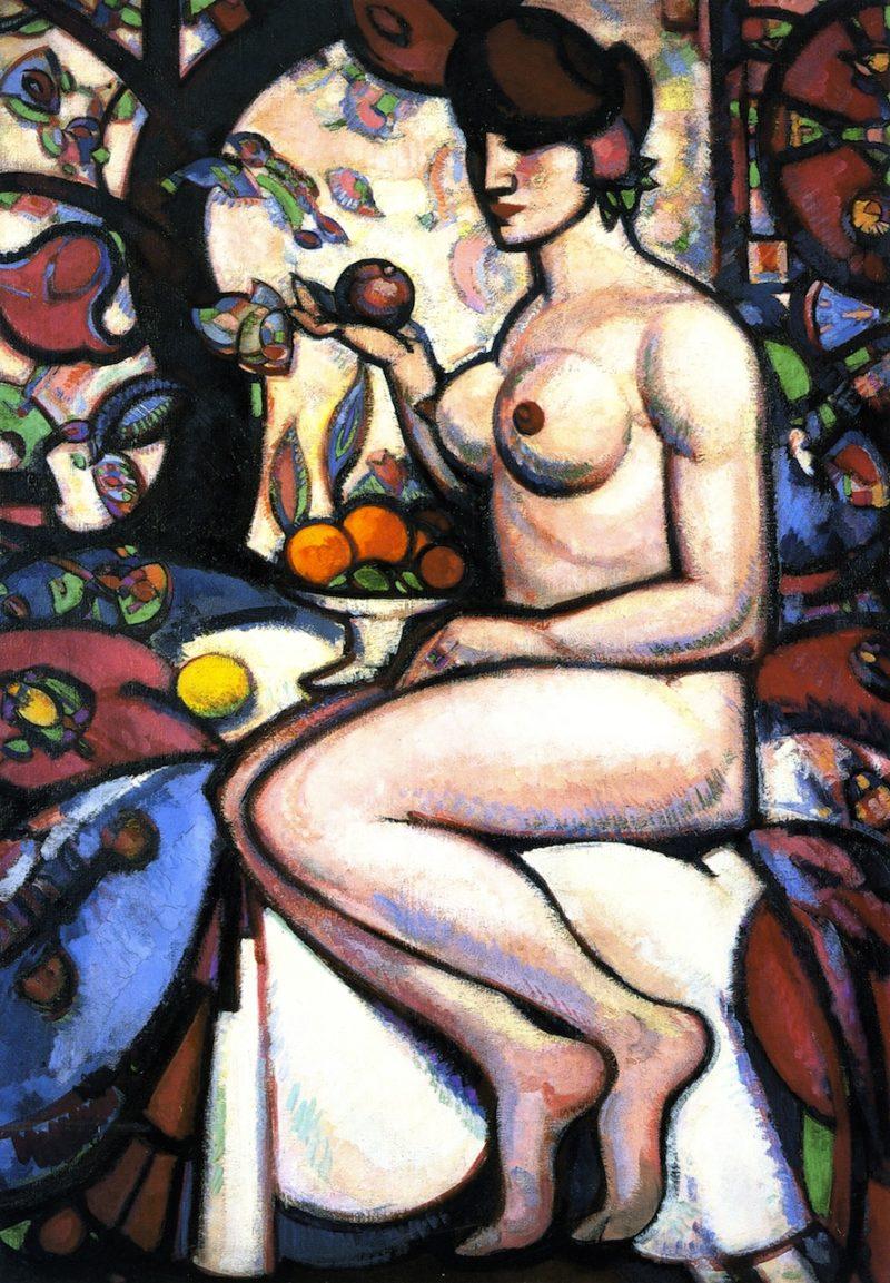 Rhythm   John Duncan Fergusson   oil painting