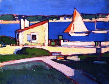 Royan | John Duncan Fergusson | oil painting