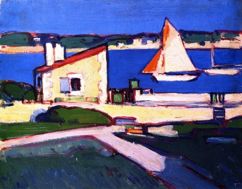 Royan | John Duncan Fergusson | oil painting