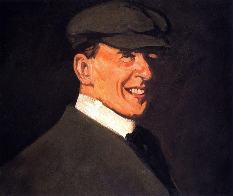 Self Portrait   John Duncan Fergusson   oil painting