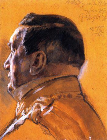 Baron von der Heydt Minister of State | Adolph von Menzel | oil painting