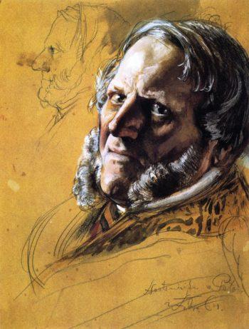 Baron von Patow Minister of State | Adolph von Menzel | oil painting
