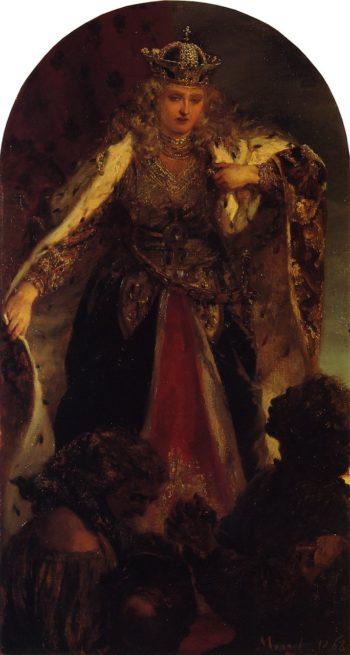 Borussia | Adolph von Menzel | oil painting