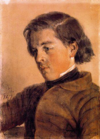 Carl Johann Arnold | Adolph von Menzel | oil painting