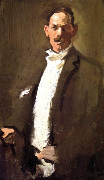 Self Portrait   Samuel John Peploe   oil painting