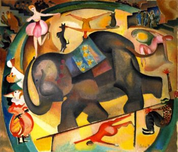 The Elephant | Alice Bailly | oil painting