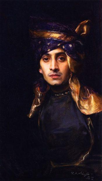 An Indian Prince | Philip Alexius de Laszlo | oil painting