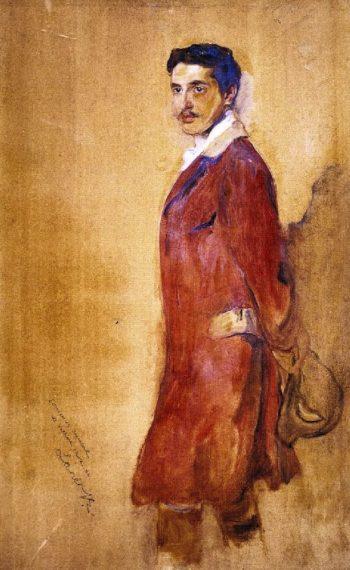Antine XII Armand duc de Guiche | Philip Alexius de Laszlo | oil painting