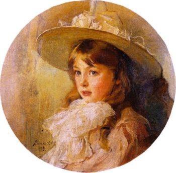 A Young Girl | Philip Alexius de Laszlo | oil painting