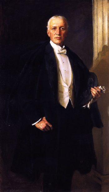 Baron Bruno von Schroder | Philip Alexius de Laszlo | oil painting