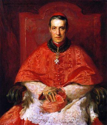 Cardinal Mariano Rampolla | Philip Alexius de Laszlo | oil painting
