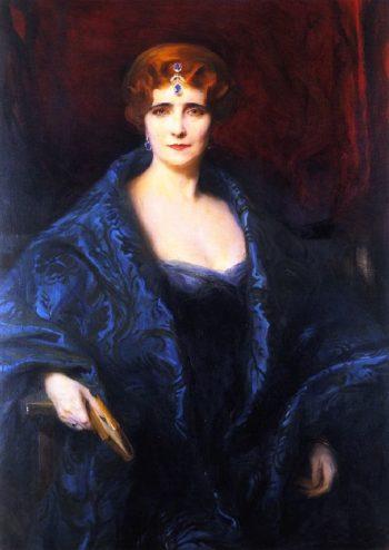 Elinor Glyn | Philip Alexius de Laszlo | oil painting