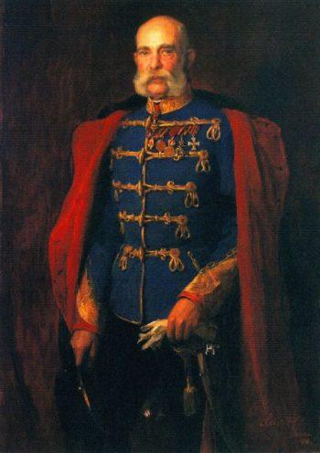 Emperor Francis Joseph of Austria King of Hungary | Philip Alexius de Laszlo | oil painting