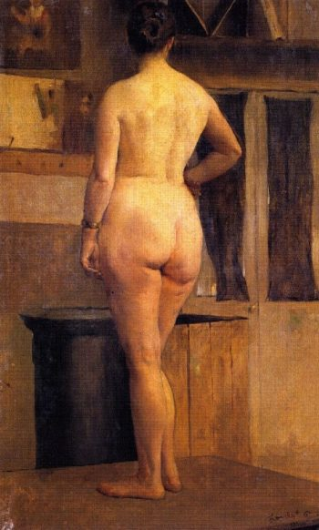 Female Nude | Philip Alexius de Laszlo | oil painting