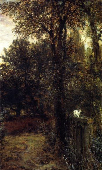 Quiet Corner | Adolph von Menzel | oil painting