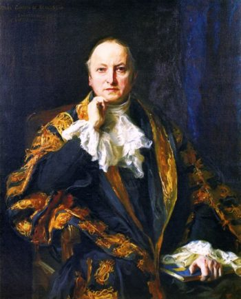 George Nathaniel Earl Curzon of Kedleston | Philip Alexius de Laszlo | oil painting