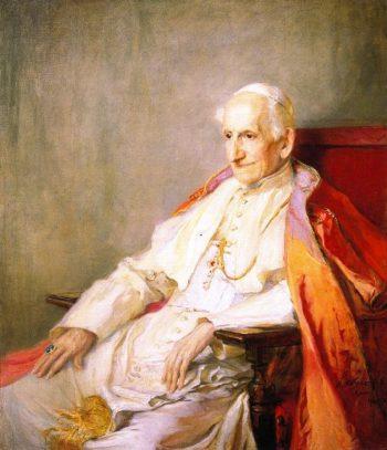 His Holiness Pope Leo XIII | Philip Alexius de Laszlo | oil painting